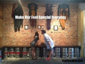 make her feel special