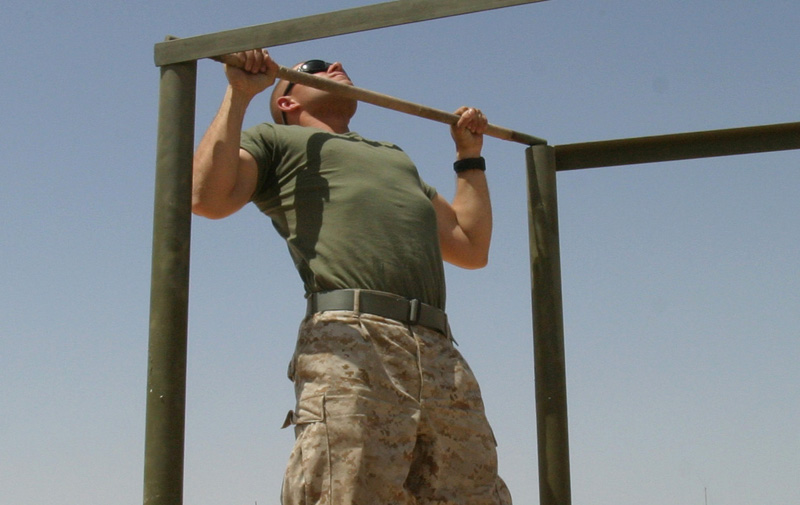 How to do a Manly Pull Up