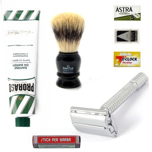 Manly Shaving Set