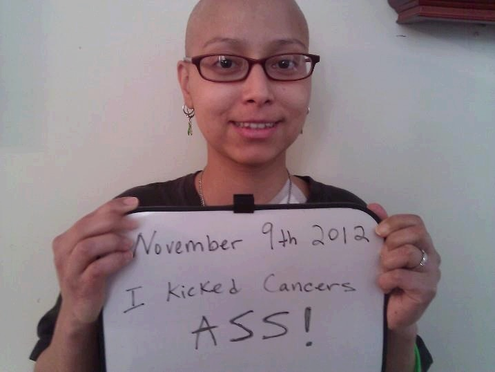 No excuses I kicked cancer