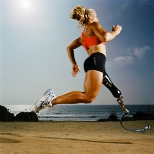 No excuses girl running