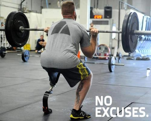 no excuses Army strong