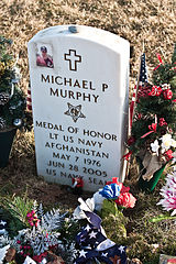 Lt. Murphy's grave in Calverton, Long Island