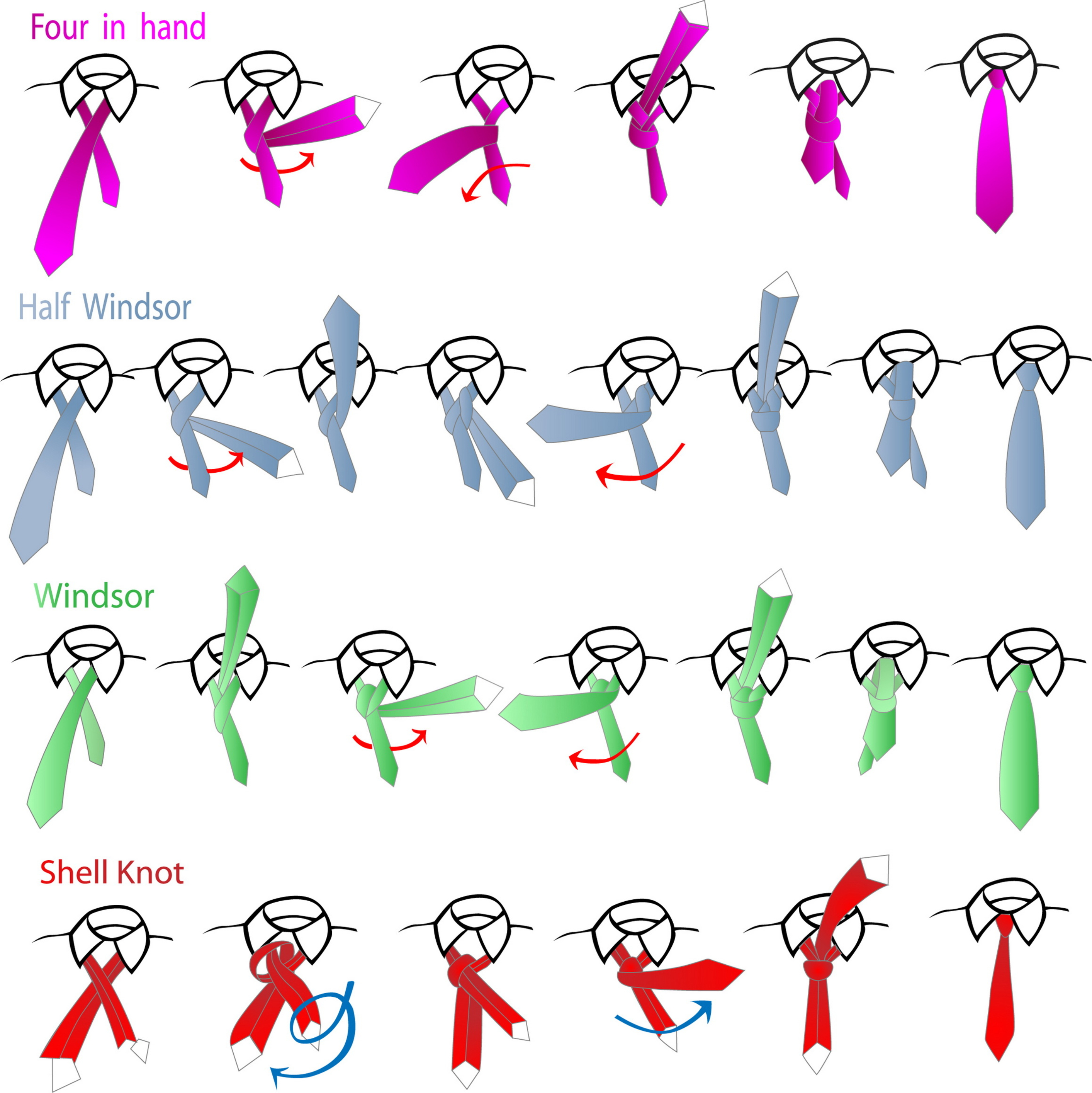 How To Tie a Necktie | Be A Man of Style - photo#10