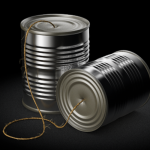 Tin can telephone 550