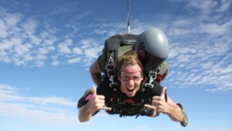 Peter Scott Skydiving Featured