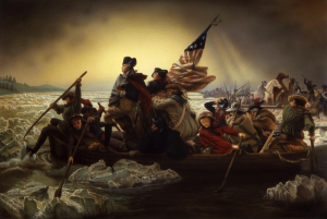 George Washington Crossing Delaware