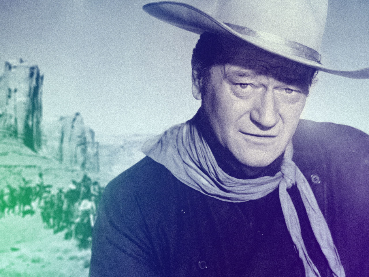 John Wayne Quote Life Is Hard Fearless Men Quotes  Volume I