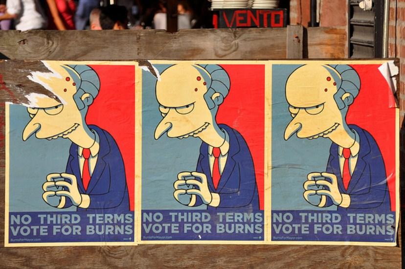 No Vote For Burns