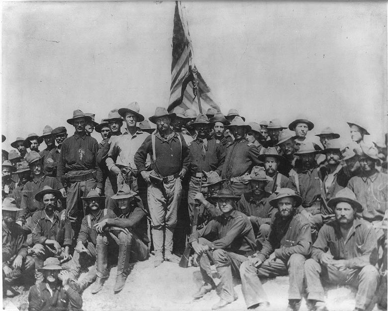 Theodore Roosevelt and Rough Riders