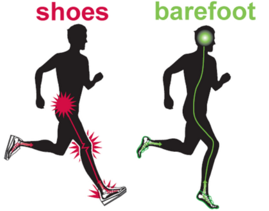barefoot running techniques