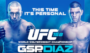 St-Pierre vs Diaz