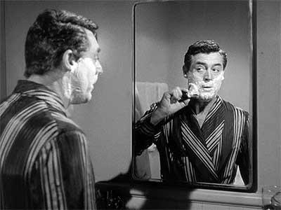 Cary Grant Shaving